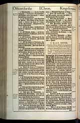 1 Chronicles Chapter 28, Original 1611 KJV