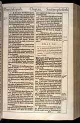 1 Samuel Chapter 20, Original 1611 KJV