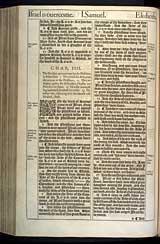 1 Samuel Chapter 4, Original 1611 KJV