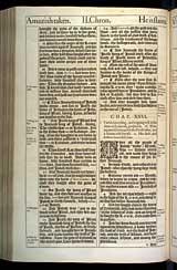 2 Chronicles Chapter 26, Original 1611 KJV