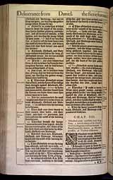 Daniel Chapter 4, Original 1611 KJV