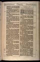 Daniel Chapter 7, Original 1611 KJV