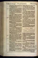 Deuteronomy Chapter 32, Original 1611 KJV