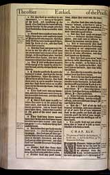 Ezekiel Chapter 45, Original 1611 KJV