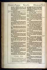 Genesis Chapter 13, Original 1611 KJV