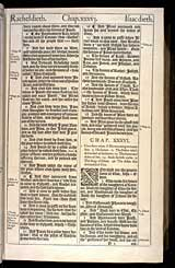 Genesis Chapter 36, Original 1611 KJV
