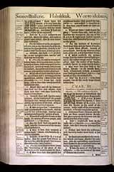 Habakkuk Chapter 2, Original 1611 KJV