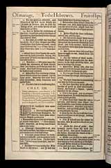 Hebrews Chapter 13, Original 1611 KJV