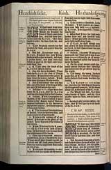Isaiah Chapter 38, Original 1611 KJV