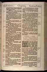 Isaiah Chapter 64, Original 1611 KJV