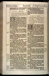 Jeremiah Chapter 24, Original 1611 KJV