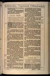 Jeremiah Chapter 39, Original 1611 KJV