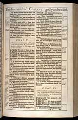 Job Chapter 6, Original 1611 KJV