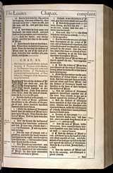 Judges Chapter 20, Original 1611 KJV