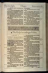 John Chapter 1, Original 1611 KJV