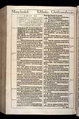 Mark Chapter 3, Original 1611 KJV