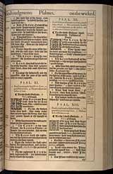 Psalms Chapter 11, Original 1611 KJV