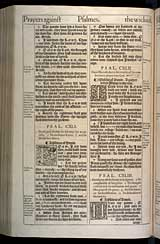 Psalms Chapter 142, Original 1611 KJV