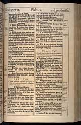 Psalms Chapter 30, Original 1611 KJV