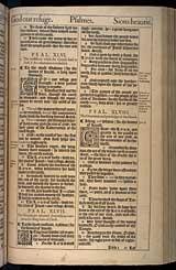 Psalms Chapter 47, Original 1611 KJV