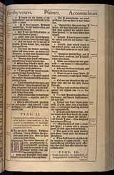 Psalms Chapter 51, Original 1611 KJV