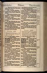 Psalms Chapter 65, Original 1611 KJV