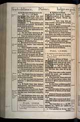Psalms Chapter 83, Original 1611 KJV