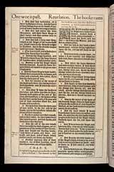 Revelation Chapter 10, Original 1611 KJV
