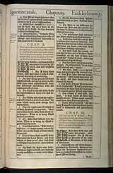 Romans Chapter 11, Original 1611 KJV