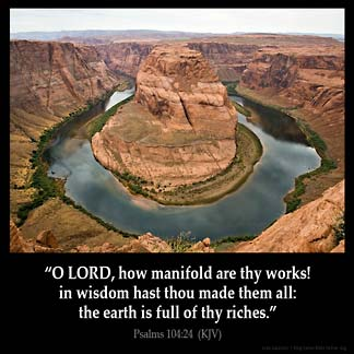 PSALMS 104:24 KJV